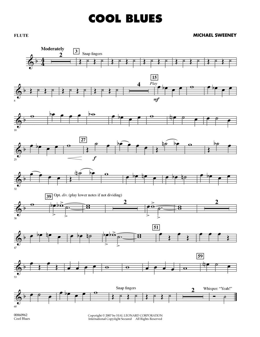 Cool Blues - Flute
