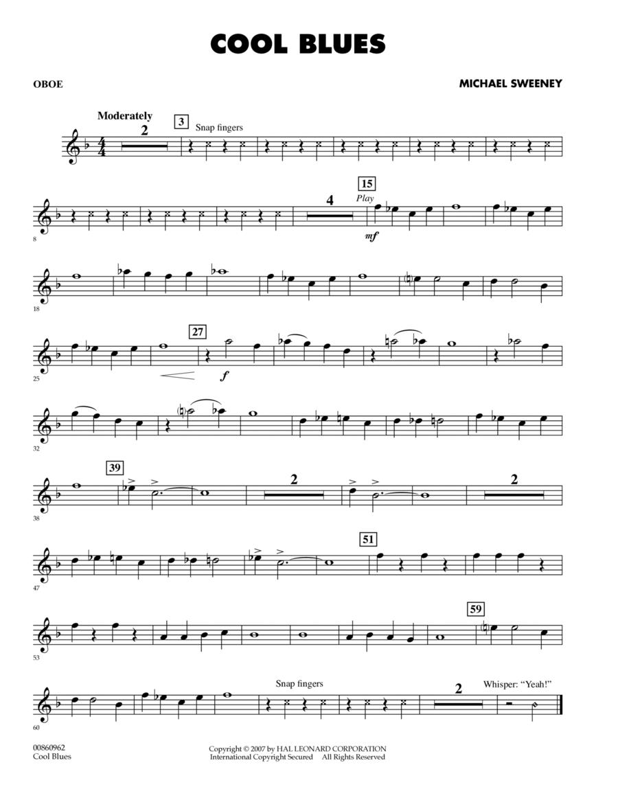 Cool Blues - Oboe
