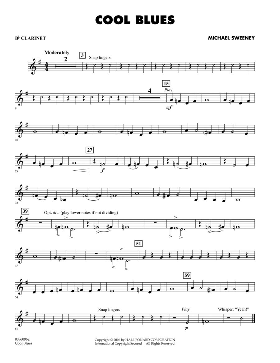 Cool Blues - Bb Clarinet