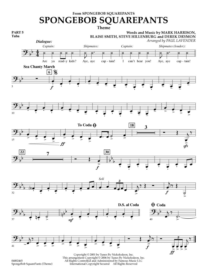 Spongebob Squarepants  (Flex-Band) - Pt.5 - Tuba