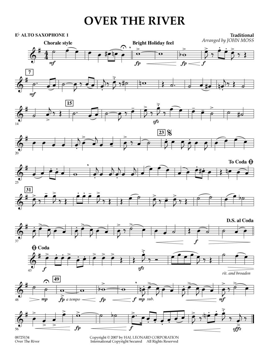 Over the River - Eb Alto Saxophone 1