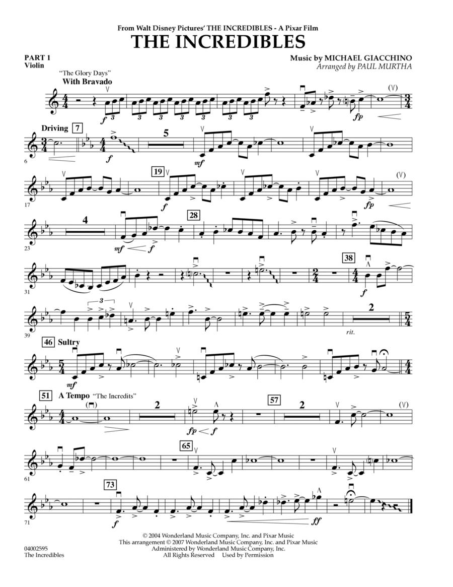 The Incredibles - Pt.1 - Violin