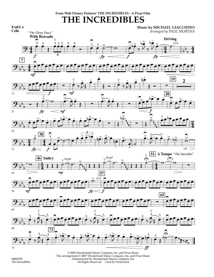 The Incredibles - Pt.4 - Cello