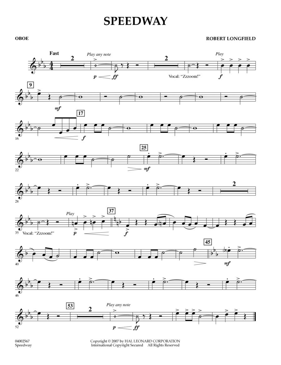 Speedway - Oboe