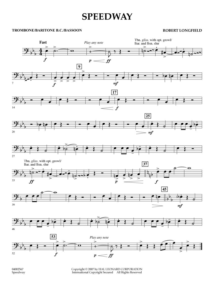 Speedway - Trombone