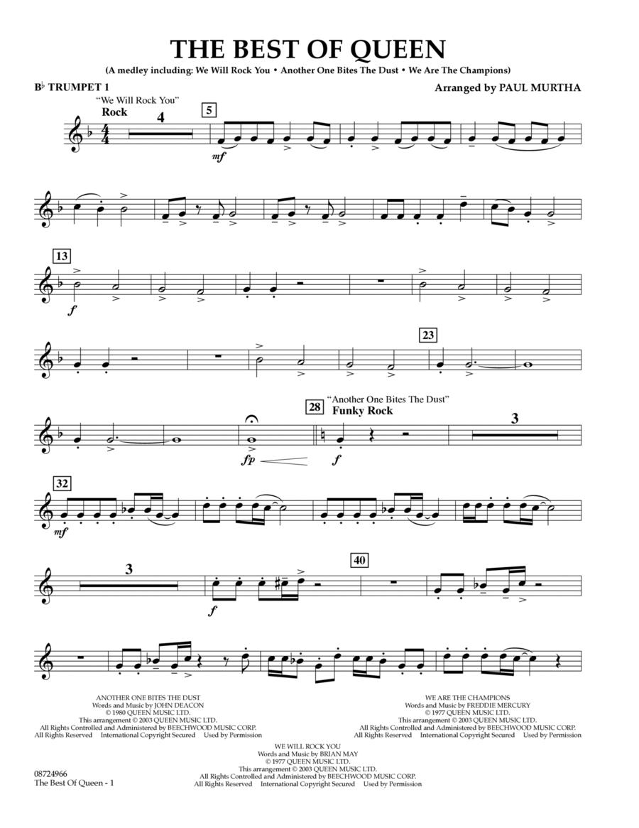 The Best of Queen - Bb Trumpet 1