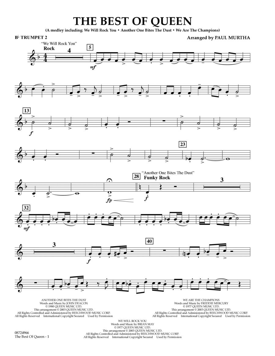 The Best of Queen - Bb Trumpet 2