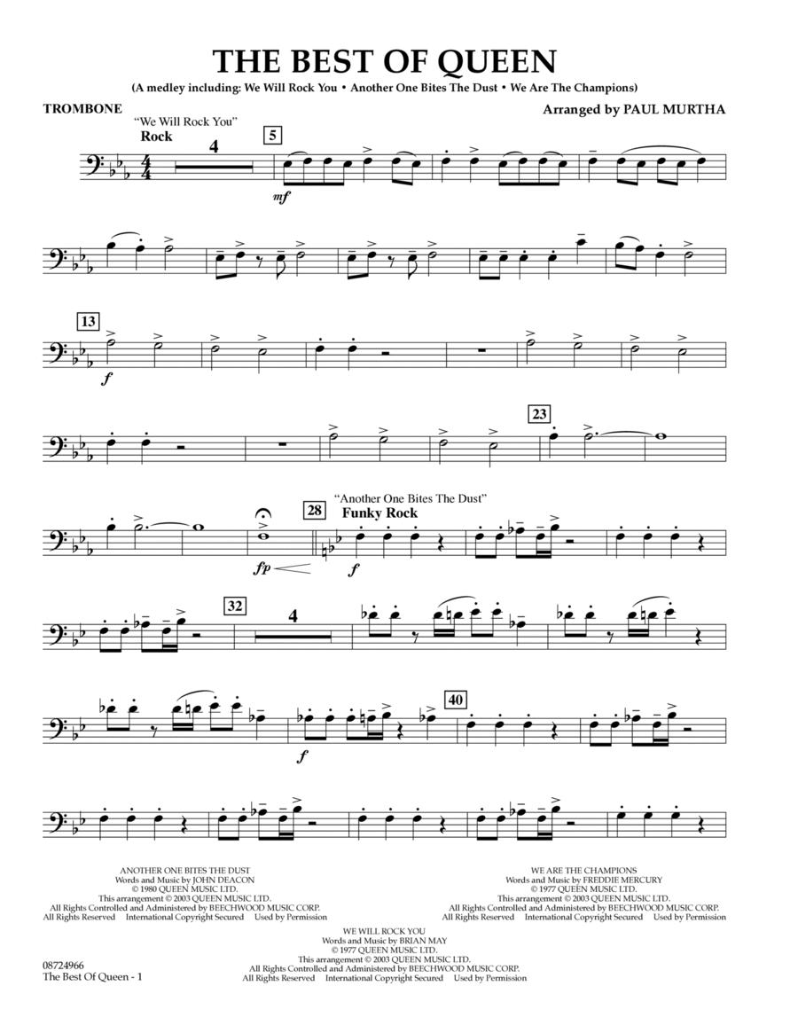 The Best of Queen - Trombone