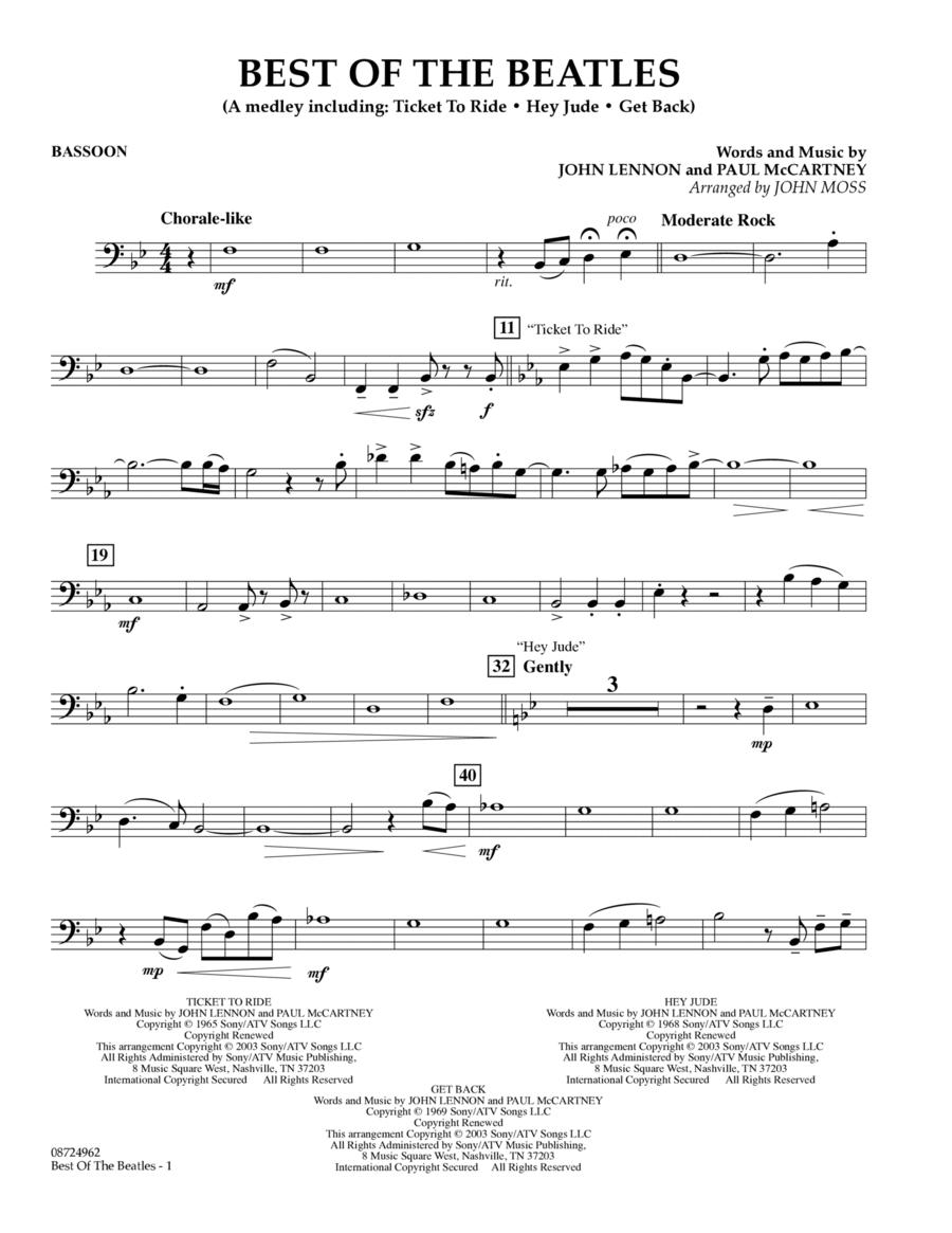 Best of the Beatles - Bassoon