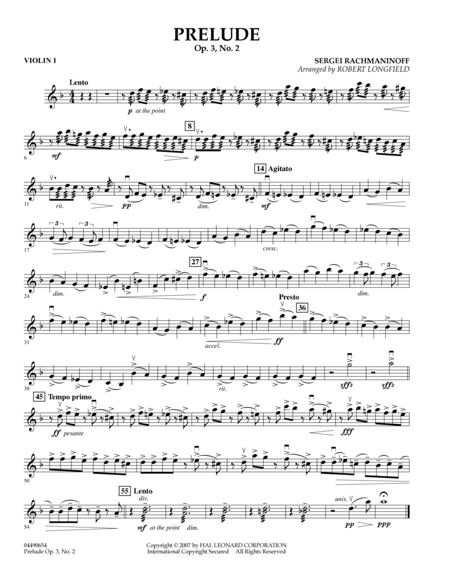 Prelude Op.3, No. 2 - Violin 1