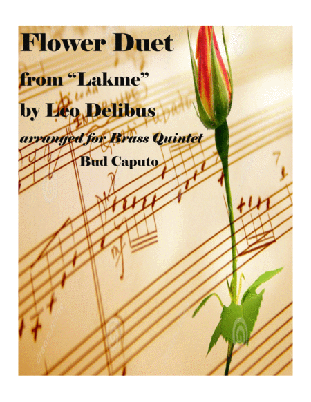 Flower Duet from Lakme for Brass Quintet