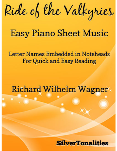 Ride of the Valkyries Easy Piano Sheet Music
