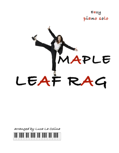MAPLE LEAF RAG Easy Piano