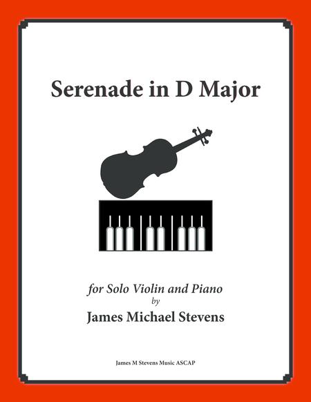 Serenade in D Major (Solo Violin & Piano)