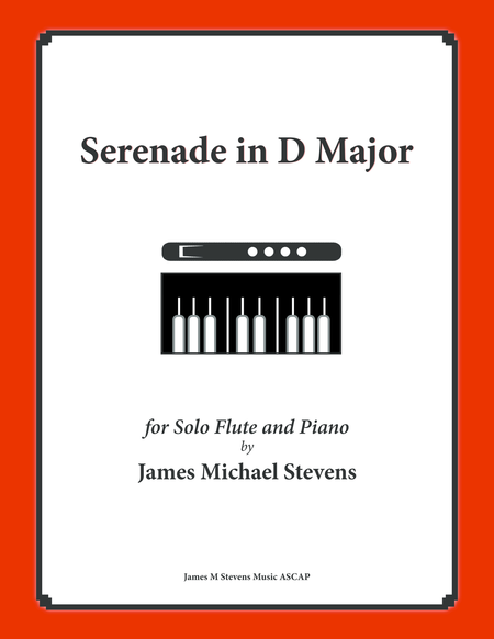 Serenade in D Major (Solo Flute & Piano)