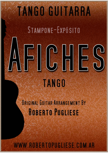 Afiches - Tango (Stampone - Exposito)