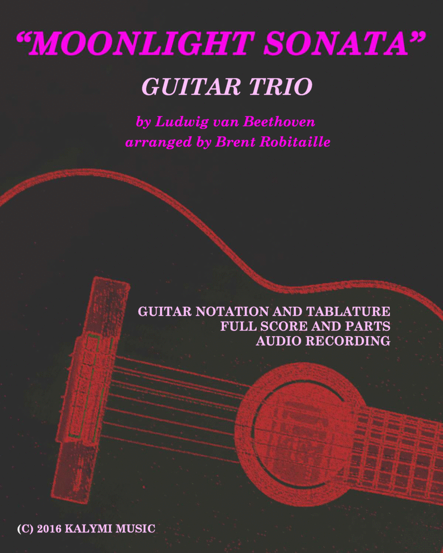 Moonlight Sonata - Guitar Trio