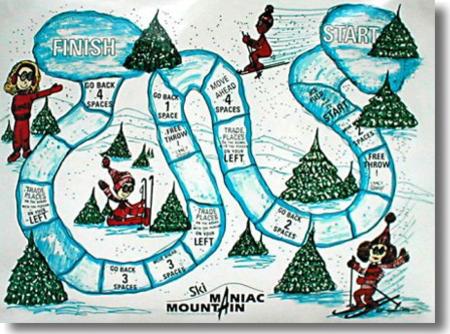 GAME: Ski Maniac Mountain