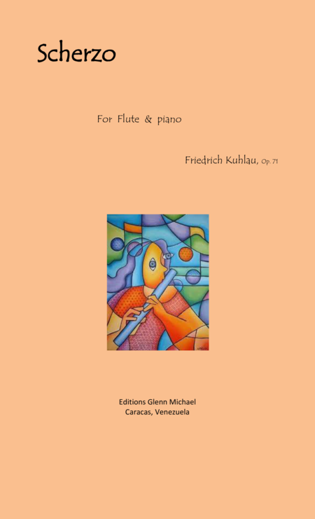 Kuhlau Scherzo for flute & piano