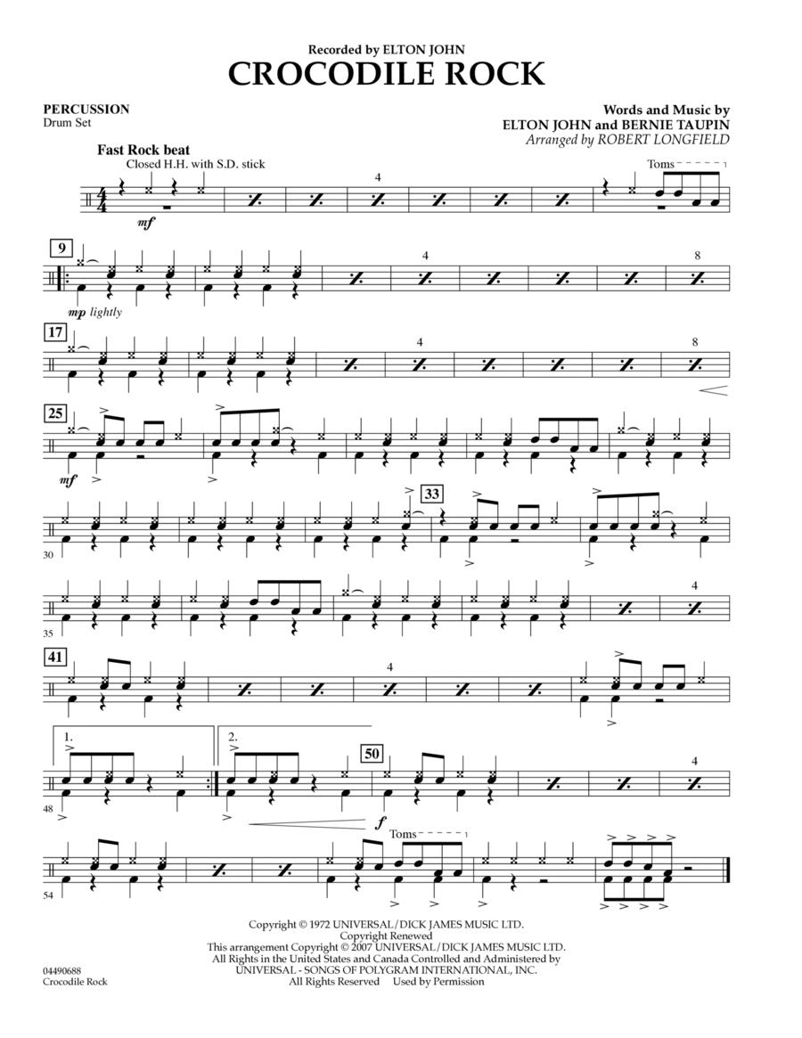 Crocodile Rock - Piano