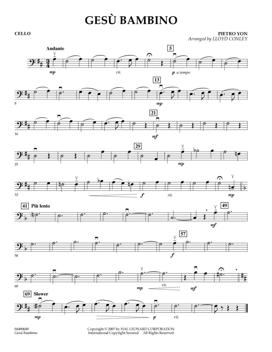 Gesu Bambino - Cello