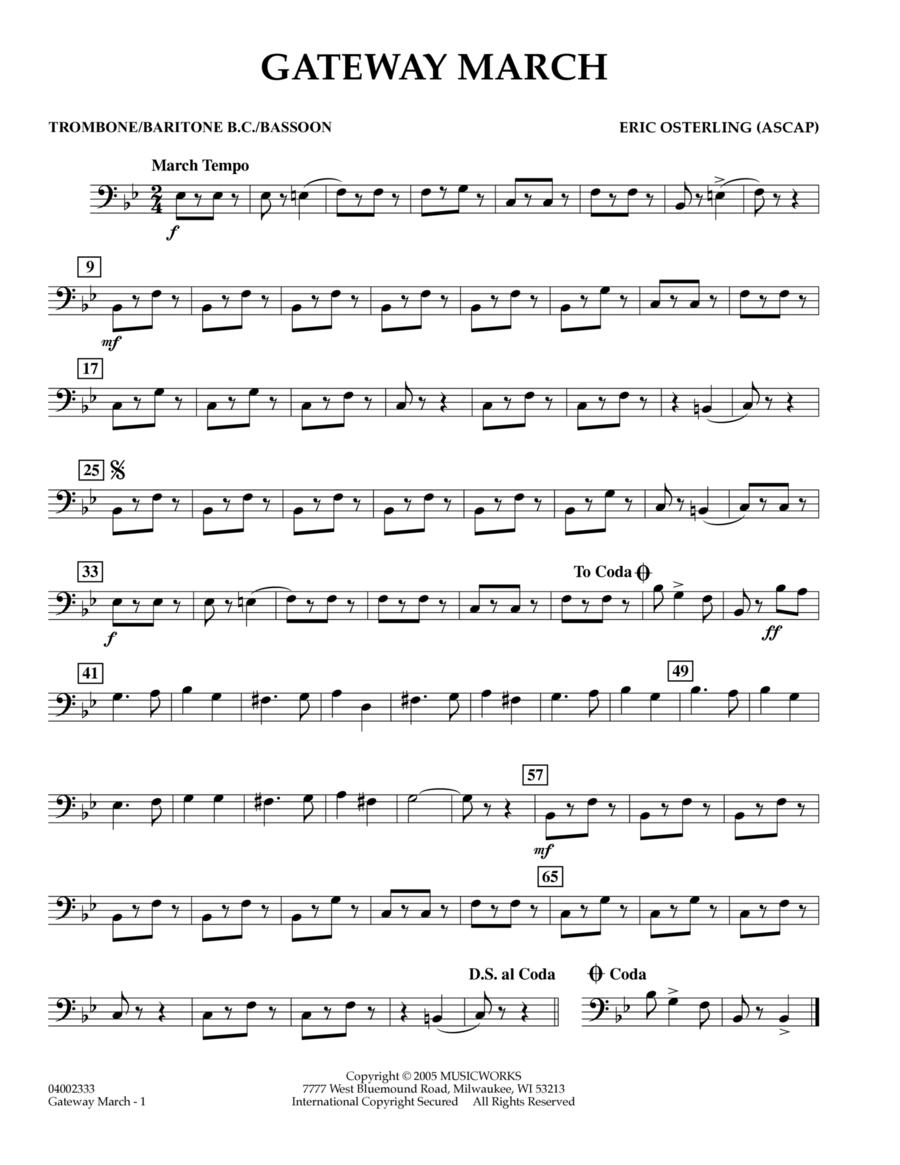 Gateway March - Trombone