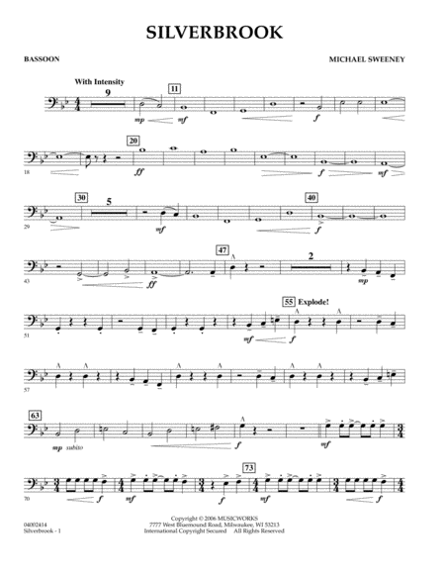 Silverbrook - Bassoon