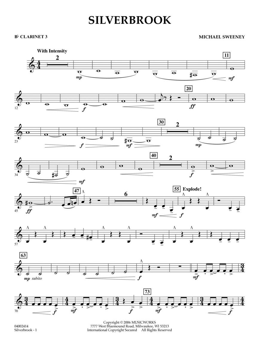 Silverbrook - Bb Clarinet 3
