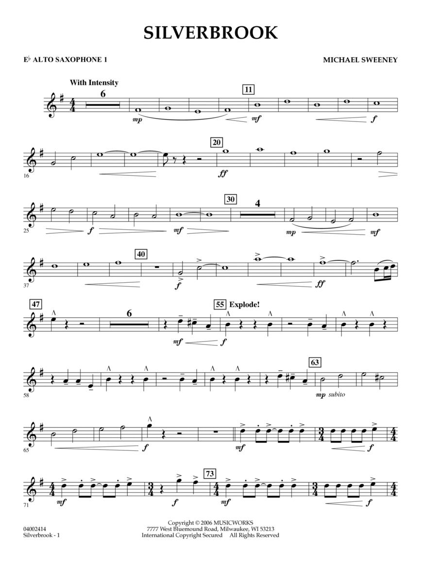 Silverbrook - Eb Alto Saxophone 1