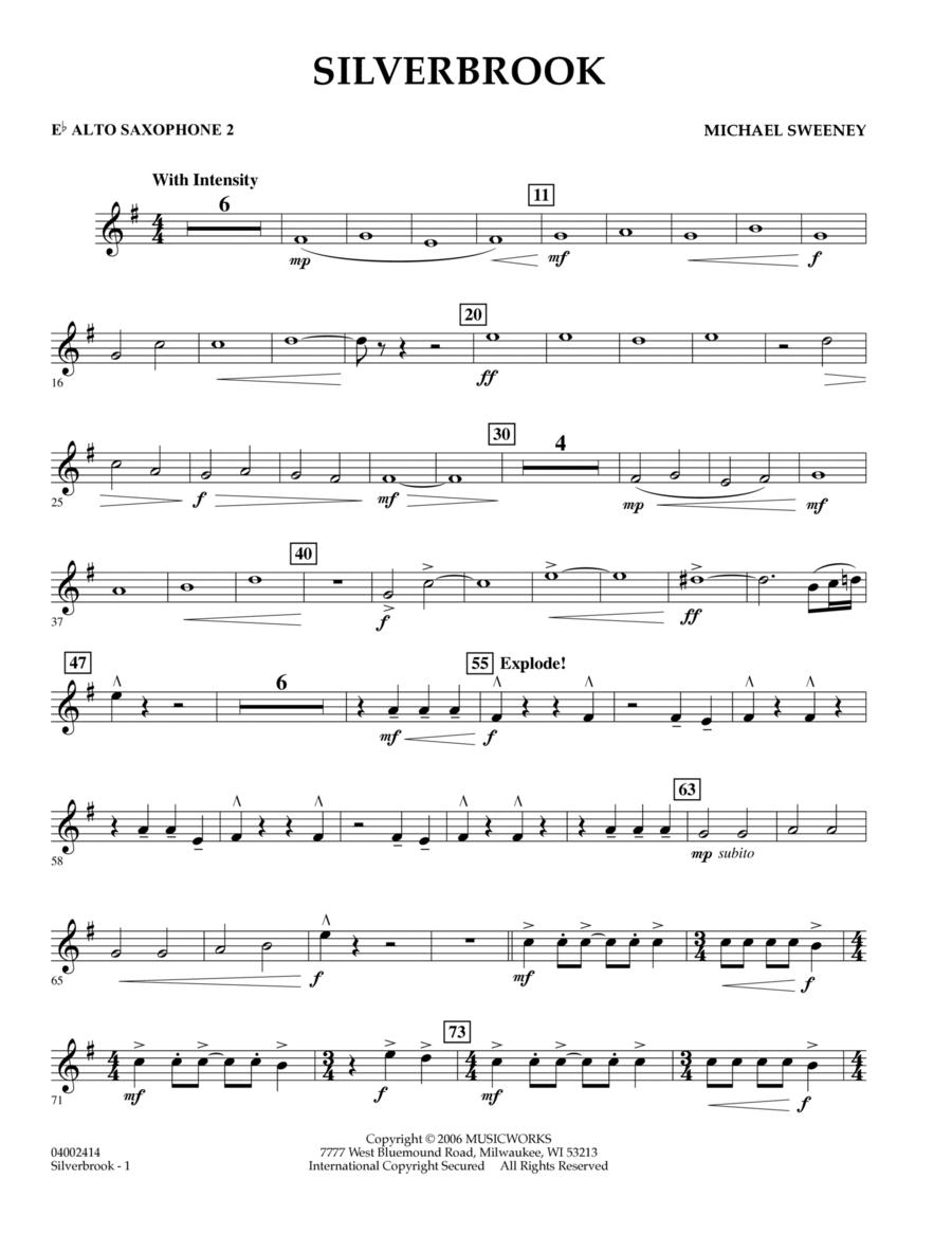 Silverbrook - Eb Alto Saxophone 2