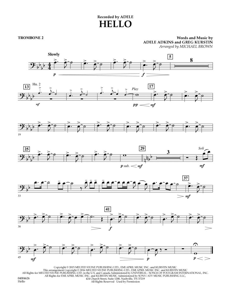 Hello - Trombone 2