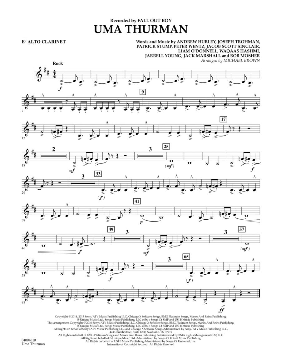 Uma Thurman - Eb Alto Clarinet