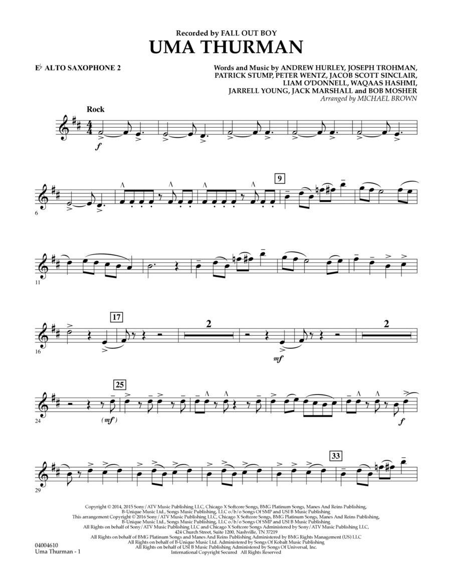 Uma Thurman - Eb Alto Saxophone 2