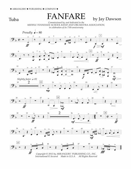 Fanfare - Tuba