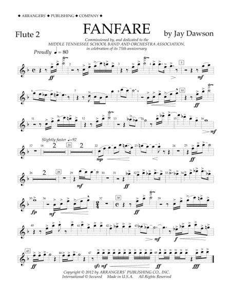 Fanfare - Flute 2