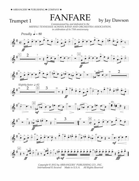 Fanfare - Trumpet 1