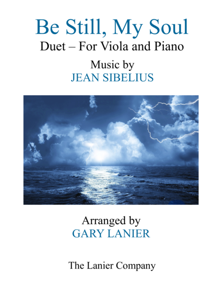 BE STILL, MY SOUL (Findlandia) Duet – Viola & Piano with Parts