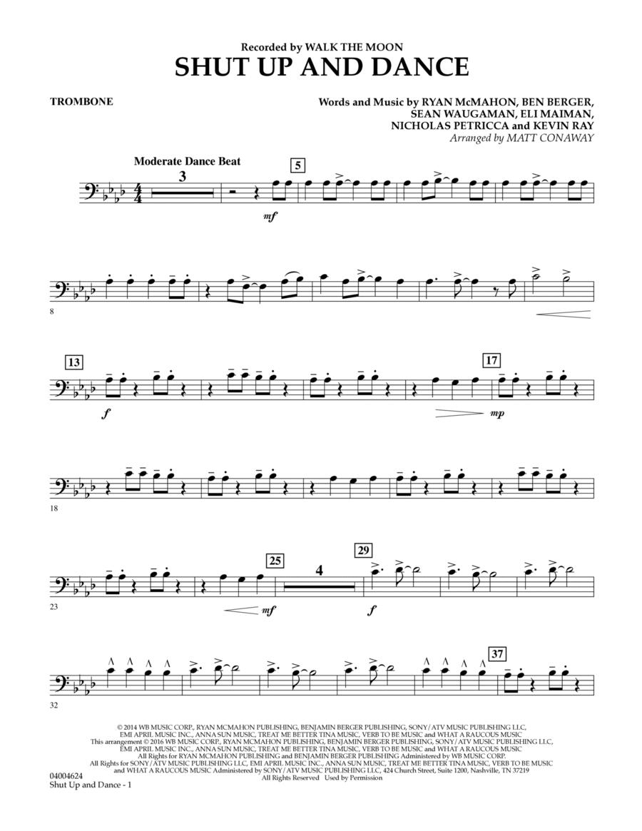 Shut Up And Dance - Trombone