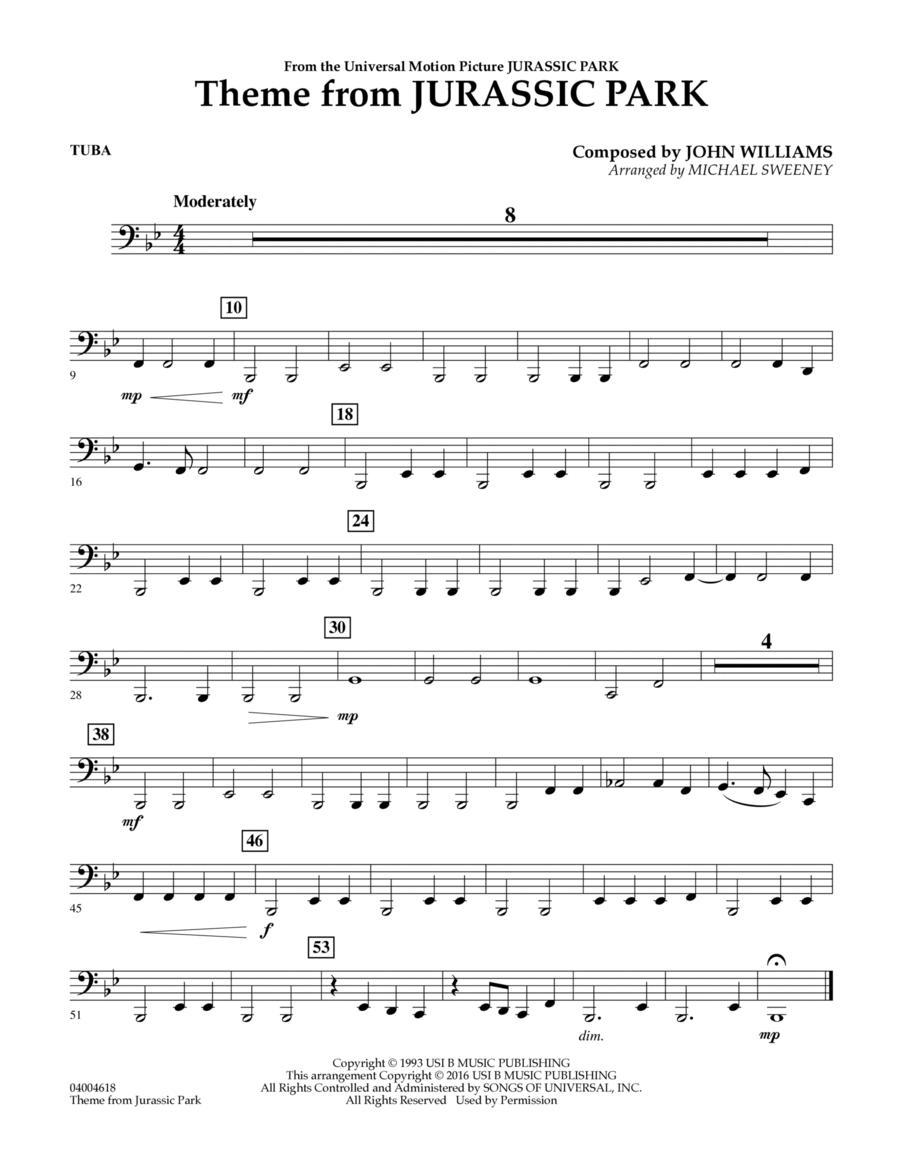 Theme from Jurassic Park - Tuba