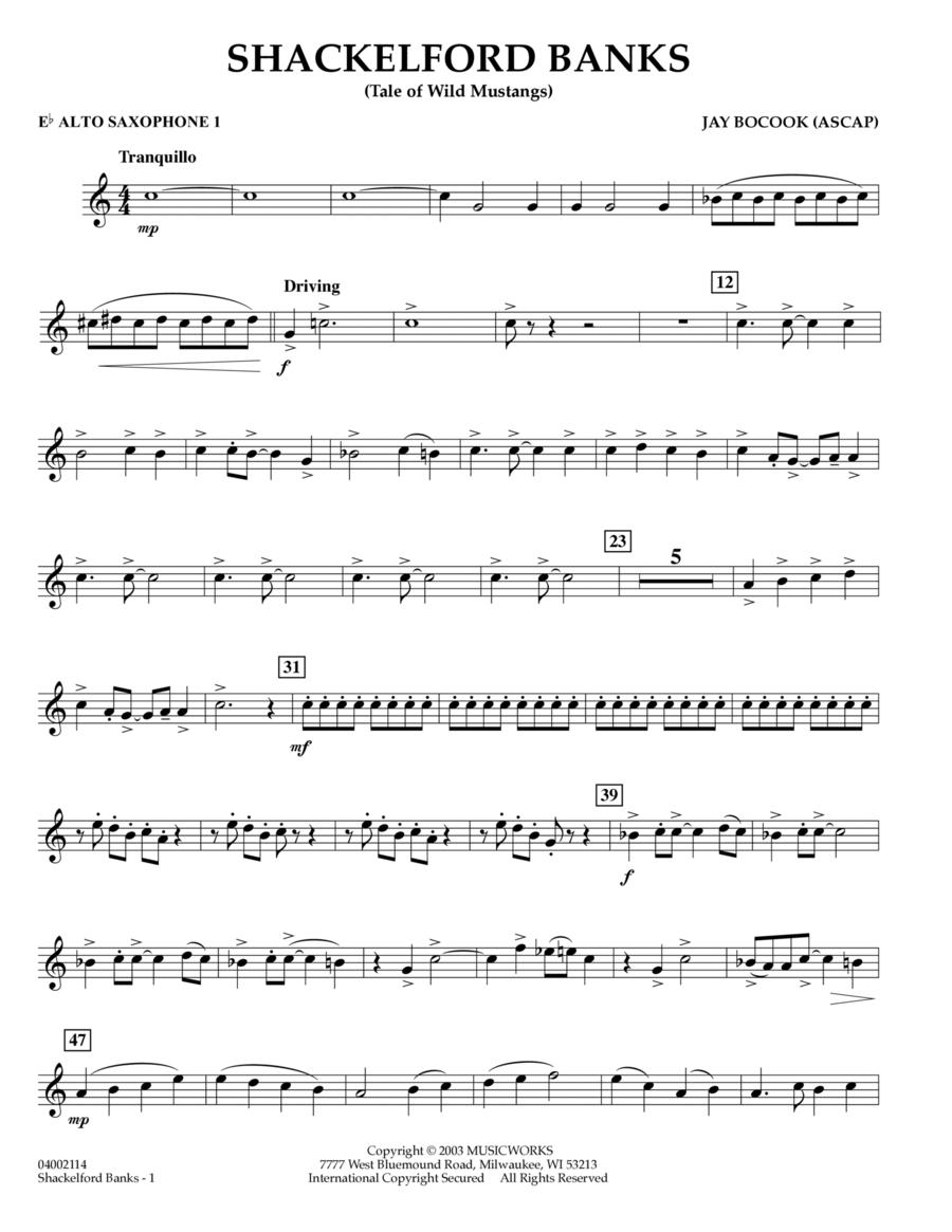 Shackelford Banks - Eb Alto Saxophone 1