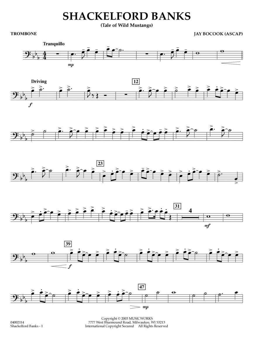Shackelford Banks - Trombone