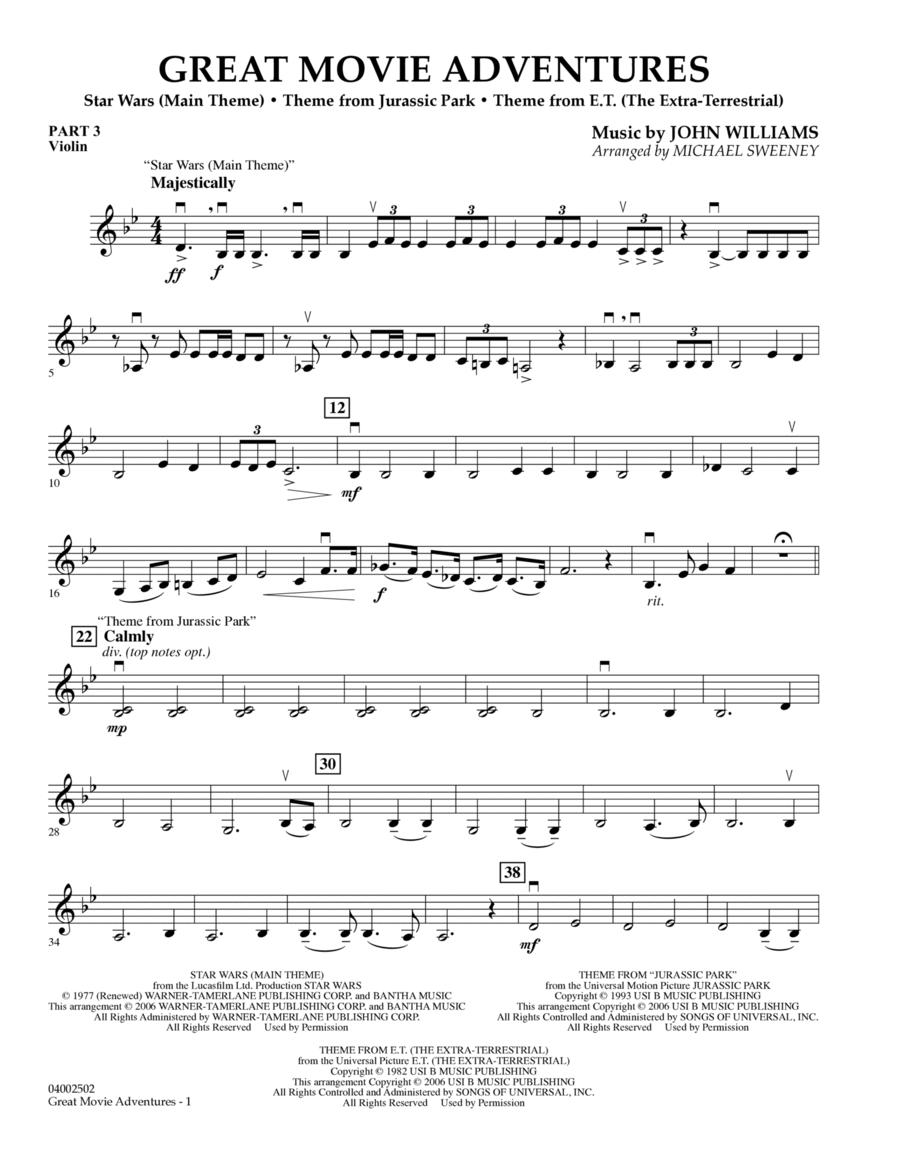 Great Movie Adventures (Flex-Band) - Pt.3 - Violin