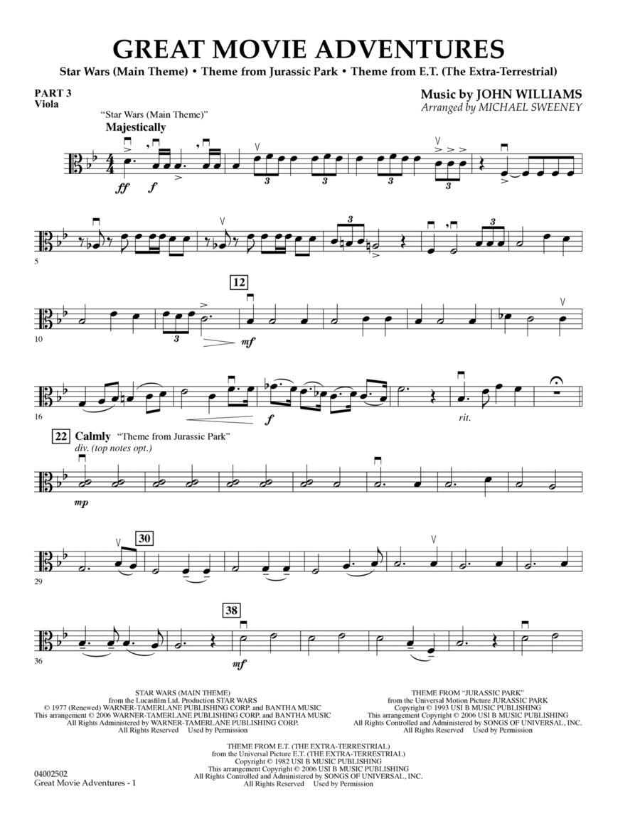 Great Movie Adventures (Flex-Band) - Pt.3 - Viola