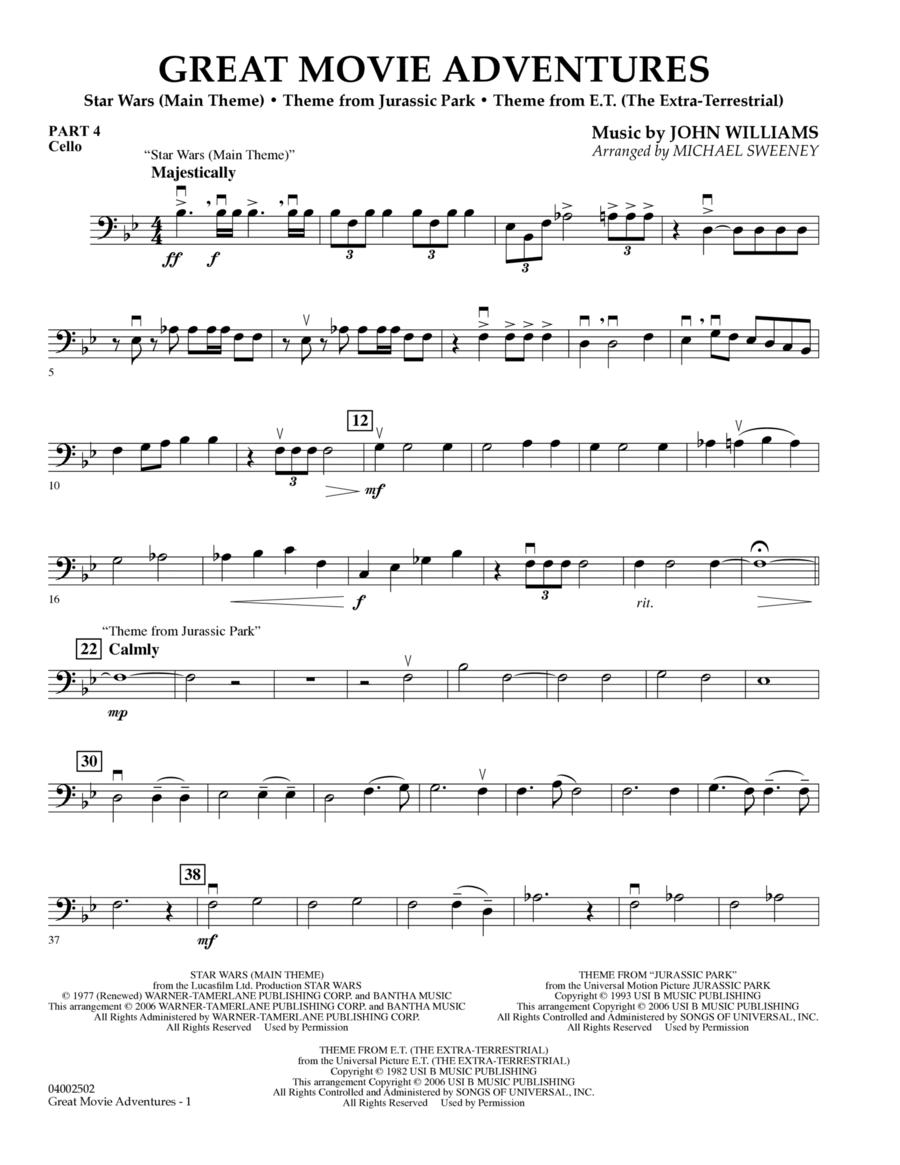 Great Movie Adventures (Flex-Band) - Pt.4 - Cello