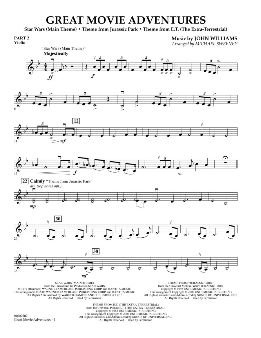 Great Movie Adventures (Flex-Band) - Pt.2 - Violin