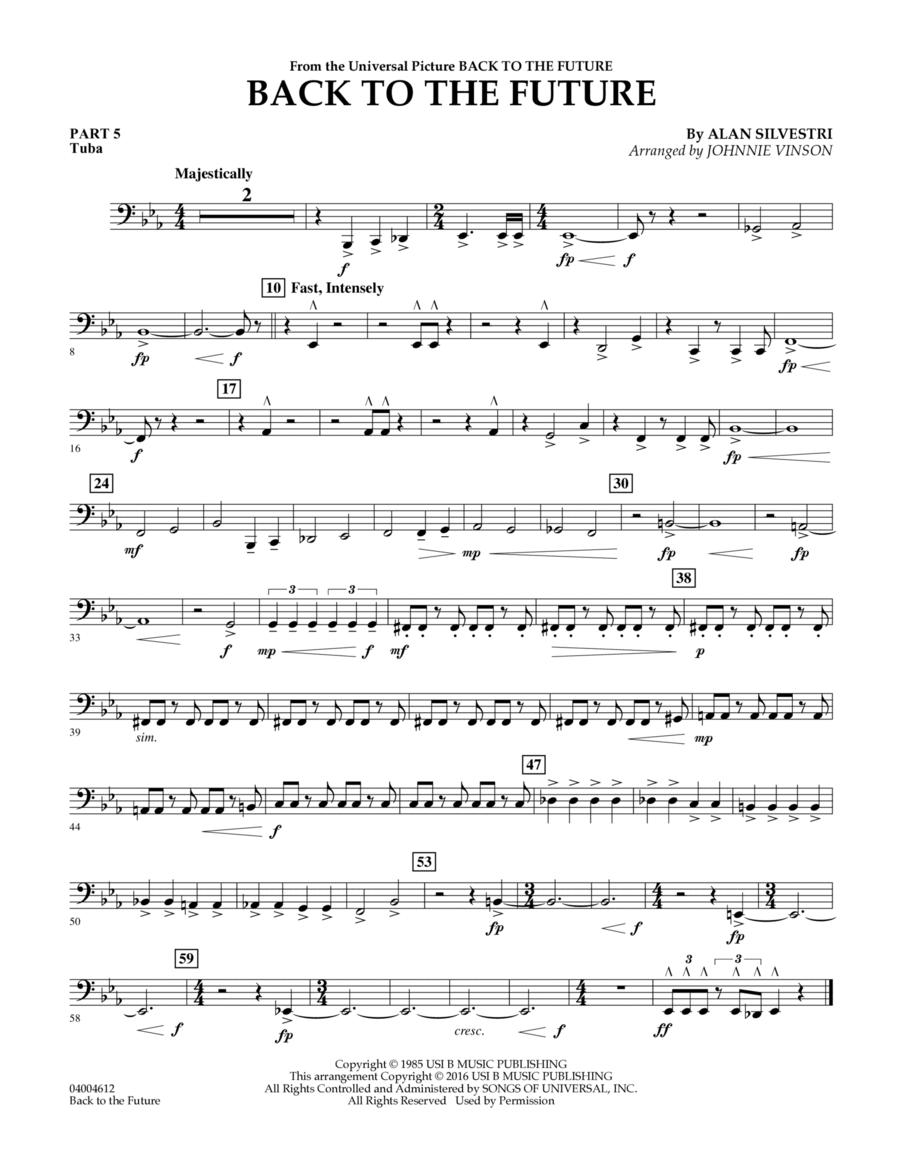 Back to the Future (Main Theme) - Pt.5 - Tuba