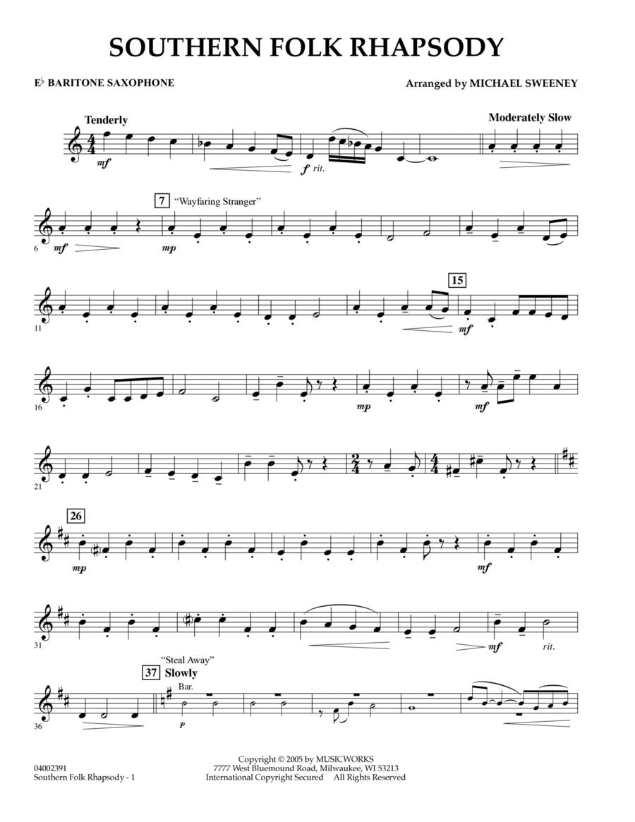 Southern Folk Rhapsody - Eb Baritone Saxophone
