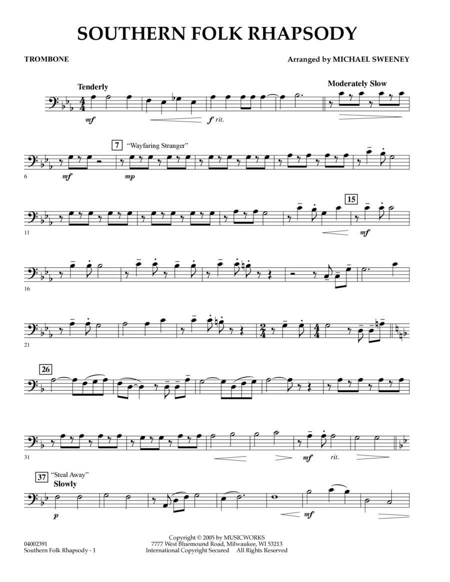 Southern Folk Rhapsody - Trombone