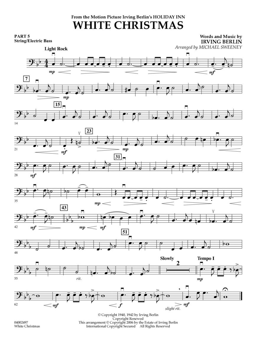 White Christmas (Flex-Band) - Pt.5 - String/Electric Bass