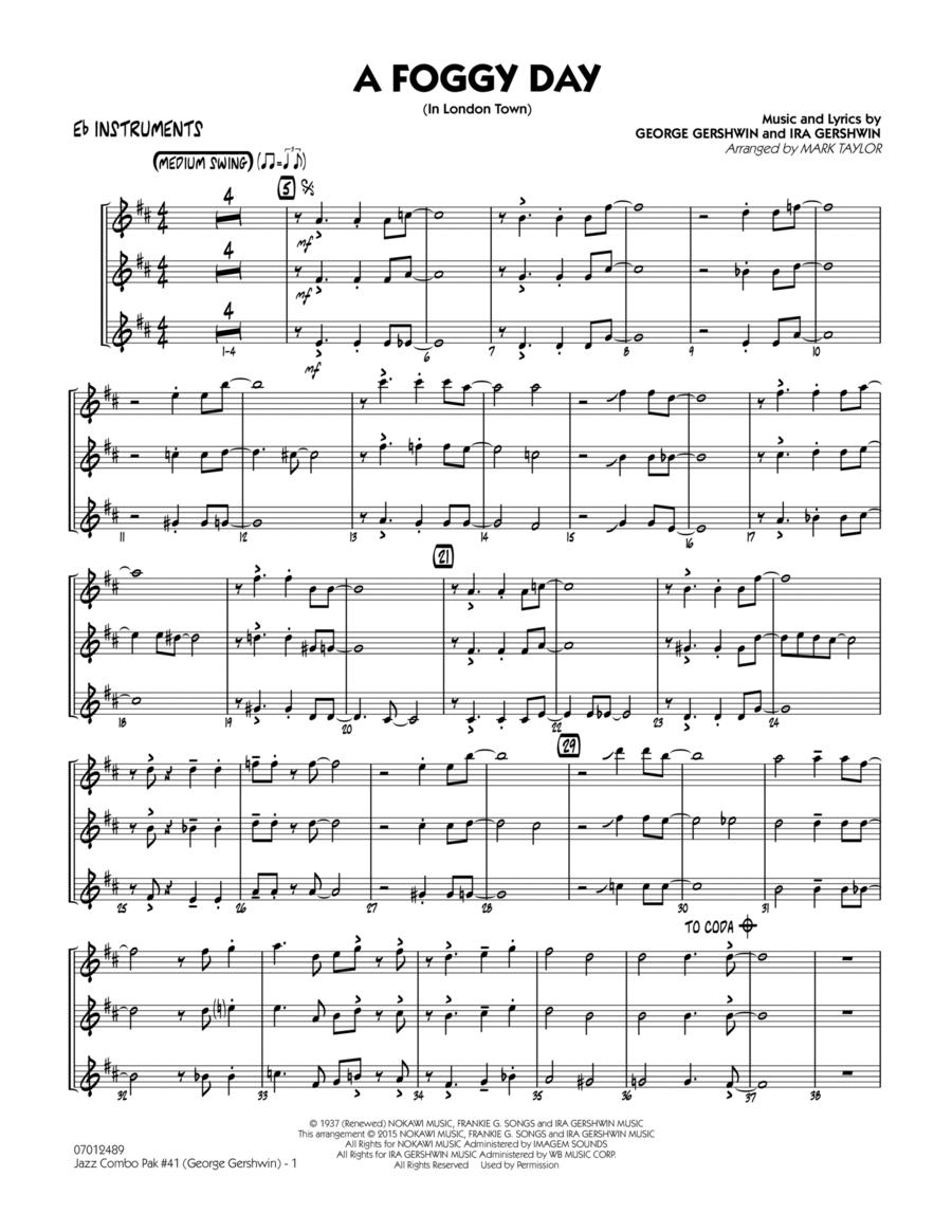 Jazz Combo Pak #41 (George Gershwin) - Eb Instruments